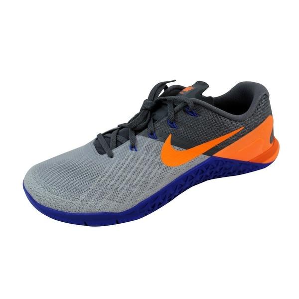 Nike Men's Metcon 3 Wolf Grey/Tart-Dark Grey 852928-003
