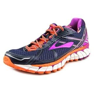 Brooks Adrenaline GTS 15 Women Round Toe Synthetic Purple Sneakers