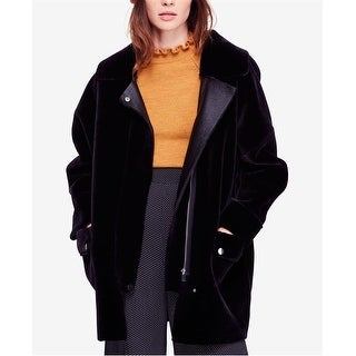 Link to Free People Womens Faux-Fur Coat Similar Items in Women's Outerwear