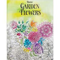 Flower - Darice Coloring Book