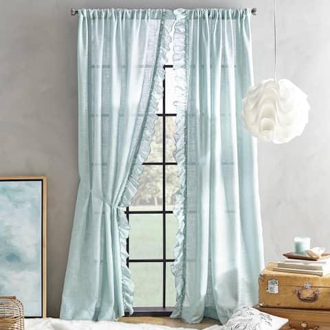 Arabella Semi-Sheer Poletop Single Curtain Panel