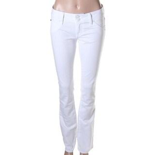 Hudson Womens Beth Baby Bootcut Jeans Denim Low-Rise