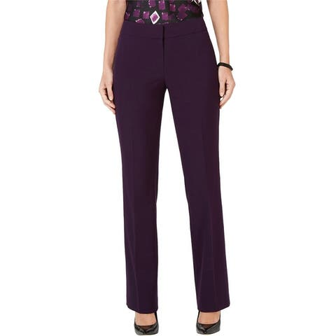 Nine West Womens Stretch Casual Trouser Pants