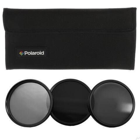 Polaroid Optics 58mm Neutral Density (ND) Pro-Grade 3-Piece Filter Set