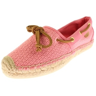 Sperry Womens Katama Boat Shoes Casual Espadrille - 5.5 medium (b,m)