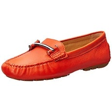 LAUREN by Ralph Lauren Womens Caliana Leather Closed Toe Loafers