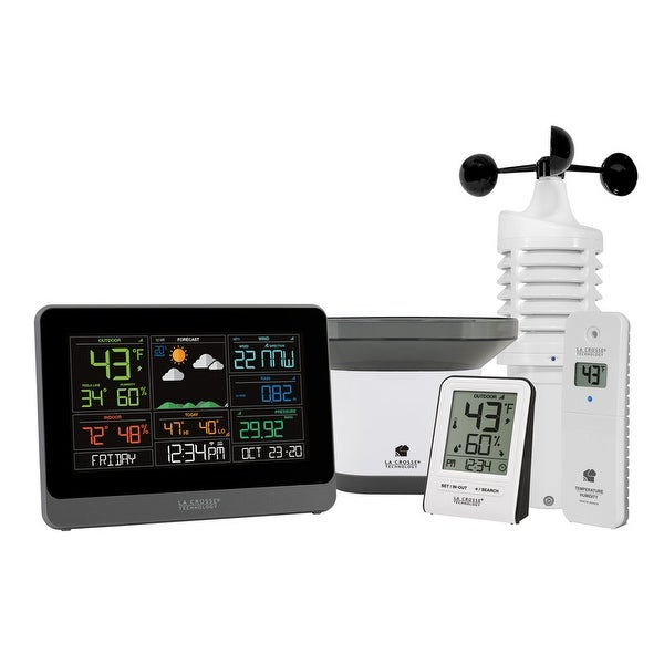 La Crosse Technology 328-10618-INT WiFi Professional Weather Center. Opens flyout.