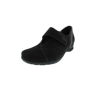 Mephisto Womens Jessica Round-Toe Shoes Suede Colorblock - 6 medium (b,m)
