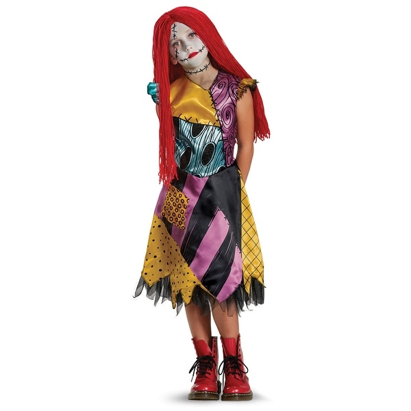 Girls Deluxe Sally Nightmare Before Xmas Costume - Overstock - 17007961 -  Large (size 10-12)
