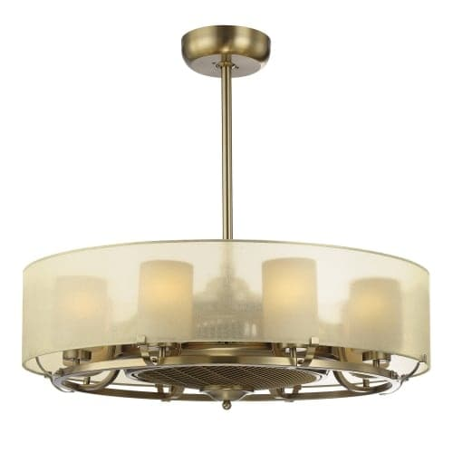Savoy House 32-334-FD Vinton 8 Light Air Ionizing Fandelier
