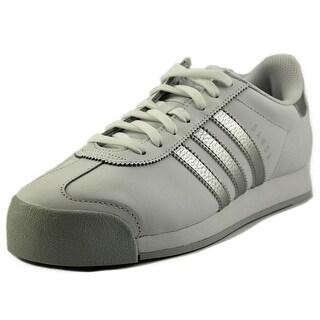 Adidas Samoa   Round Toe Leather  Running Shoe