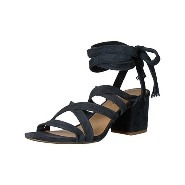 Lucky Brand Womens Idalina Dress Sandals Open Toe Ghillie