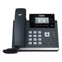 Yealink T42s 12-Line Gigabit Sip Telephone With Hd Voice
