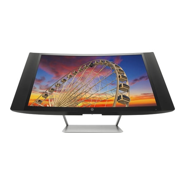 "Refurbished - HP 27C 27"" Curved Display Monitor FHD 1920x1080 300 cd/m² 8ms VGA, 2xHDMI"