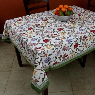 Linen Tablecloth Rectangle 60x90 Round Square Green Red Cotton Kitchen Dining Table Linen