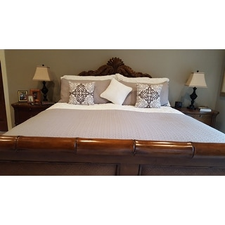 Harbor House Ivory Suzanna Cotton Comforter 3-piece Set