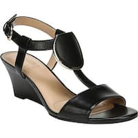 Naturalizer Women's Talli Slingback Sandal Black Leather