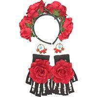 Day of The Dead Women's Costume Accessory Kit - Multi