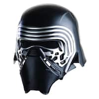 Star Wars The Force Awakens Child Costume Accessory Kylo Ren 2-Piece Helmet - Black