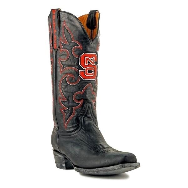 Gameday Boots Mens College Team North Carolina State Black