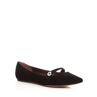 Marc Jacobs Karlie Pointy Button Ballet Flats Shoes - 9 b(m)