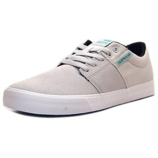 SUPRA Mens Vulc II Canvas Low Top Lace Up Skateboarding Shoes