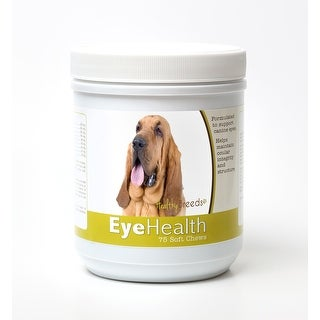 Healthy Breeds Bloodhound Dog Eye Care Support Soft Chews 75 Count