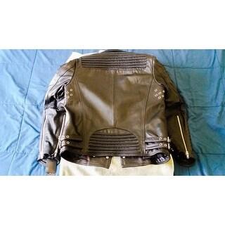 Mason & Cooper Men's The Empire Leather Moto Jacket