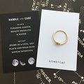 Honeycat Love Knot Ring (Delicate Jewelry) - Thumbnail 8