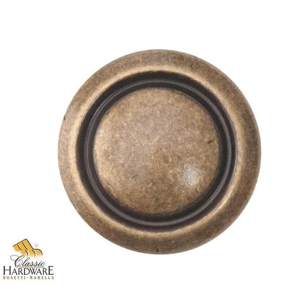 Bosetti Marella 100552 1600 Circa 1-3/8 Inch Diameter Mushroom Cabinet Knob