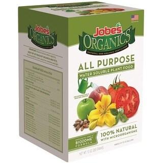 Easy Gardener 08251 Jobe's Organics All Purpose Water Soluble Plant Food, 10 Oz