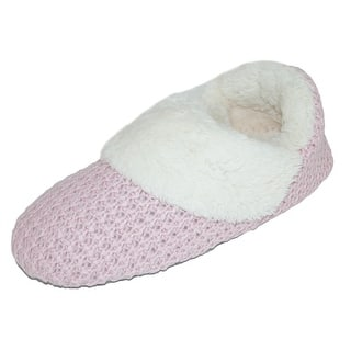 Dearfoams Women's Sweater Knit Bootie Slippers https://ak1.ostkcdn.com/images/products/is/images/direct/23d7704b9db87161af718a6683e7cf24fa4c2c7a/Dearfoams-Women%27s-Sweater-Knit-Bootie-Slippers.jpg?impolicy=medium