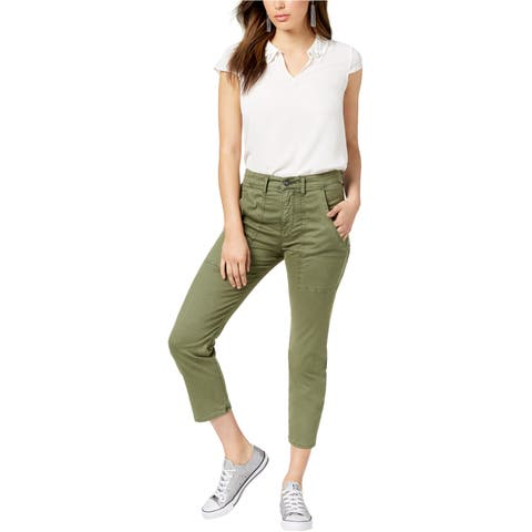 Hudson Womens The Leverage Casual Cargo Pants