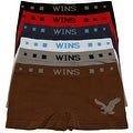 Boys 6 Pack Seamless Eagle Print B Boxer Briefs - Thumbnail 0
