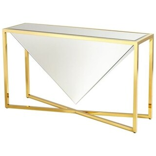 Brass Console Tables For Less Overstock