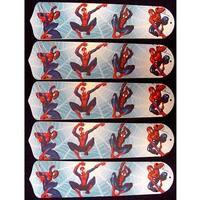 Spider Man Custom Designer 52in Ceiling Fan Blades Set - Multi