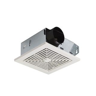 Broan 671 Bath Exhaust Fan, White, 70 CFM