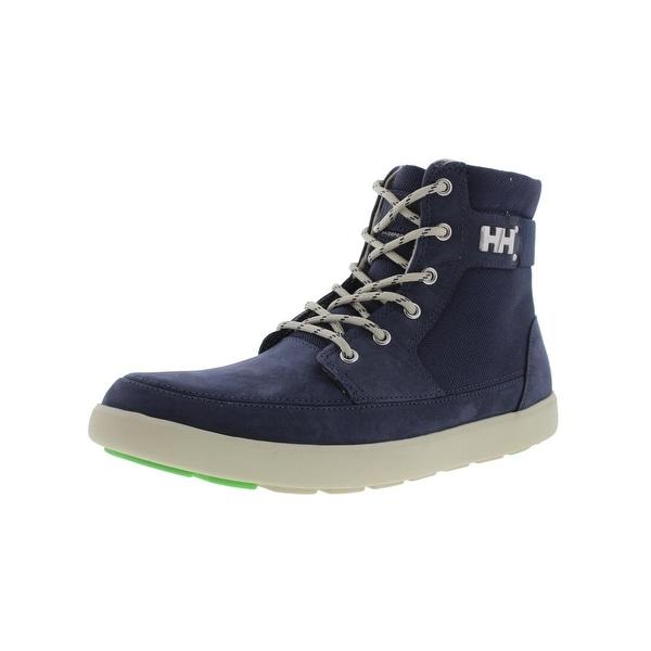 Helly Hansen Mens Stockholm Winter Boots Nubuck Textured - 7 medium (d)