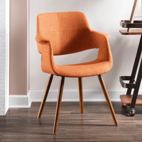 Carson Carrington Fauske Mid-century Modern Accent Chair - N/A