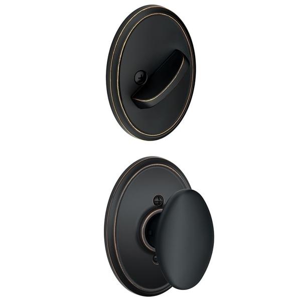 Schlage F59-SIE-WKF Sienna Single Cylinder Interior Pack with Decorative Wakefield Trim