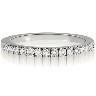 0.25 CT.TW Round Cut diamond Wedding Ring - White H-I (More options available)