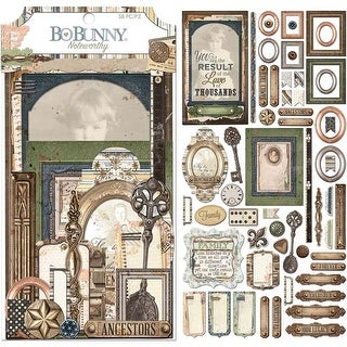 - Once Upon A Lifetime Noteworthy Die-Cuts 58/Pkg