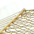 Sunnydaze Caribbean XL Rope Hammock with Spreader Bars - Thumbnail 8