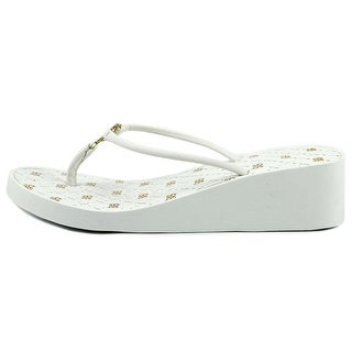 Bebe Womens Rylie Split Toe Casual Platform Sandals