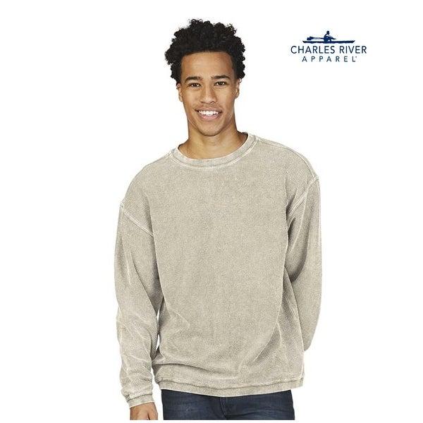 Charles River Apparel Mens Rib Knit Sweatshirt