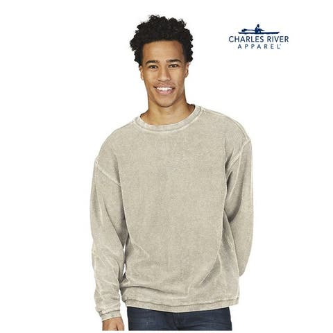 Charles River Apparel Mens Rib Knit Sweatshirt