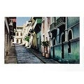 ''O'Donell Street, Old San Juan'' by Roger Vilarchao Architecture Art Print (27 x 38 in.) - Thumbnail 0