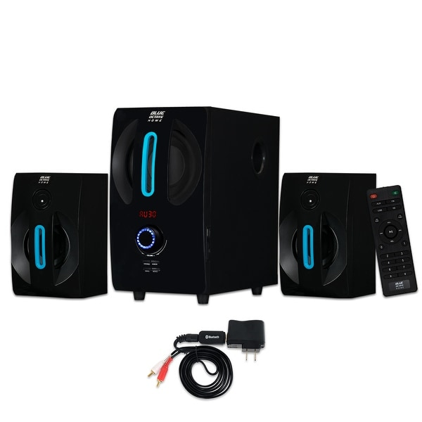 Blue Octave B22 Home 2.1 Powered Speaker System with USB / SD and Bluetooth