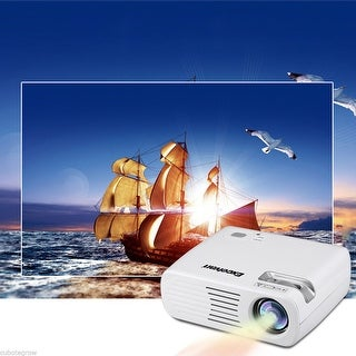 2600LM Full HD Projector LED Multimedia LCD 3D Wifi Home Cinema USB/TV/VGA 1080P