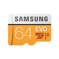 EVO Memory Card w/ Adapter 64GB MicroSDHC Card with SD Adapter
